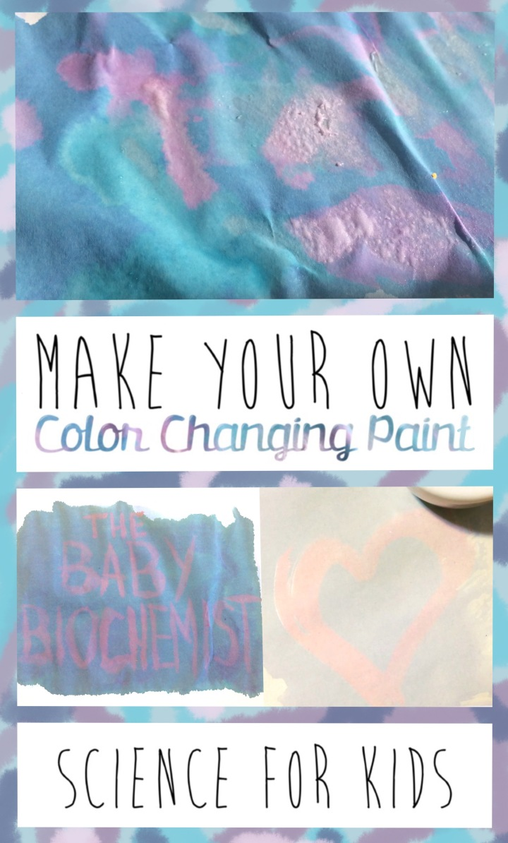 color changing paint science kids project diy