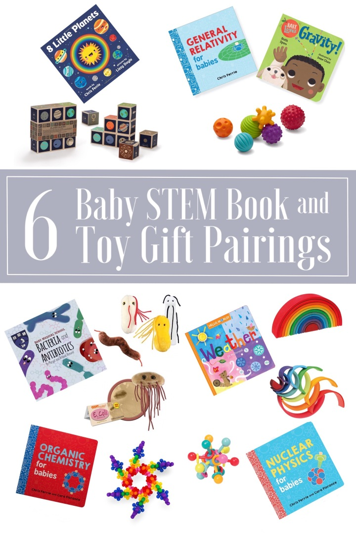 6 Stem Book Gift Pairings For Babies A Gift Guide Brave The Elements